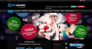 Betadonis Sportwetten Bonus
