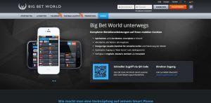 BigBetWorld Handy Wetten