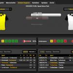 BVB Tottenham 10.03.16 Stats