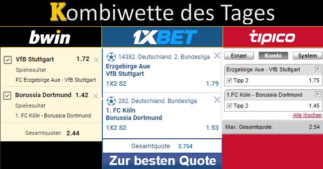 Bester Tippschein 23.08.19