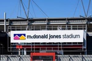 McDonald Jones Stadium - Newcastle Jets