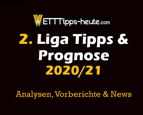 2. Bundesliga Tipp Prognose