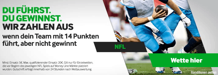 Betway NFL Aktion