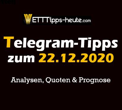 Tipico Wettprogramm Tipps 22.12.2020