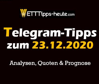 Tipico Programm Tipps 23.12.2020
