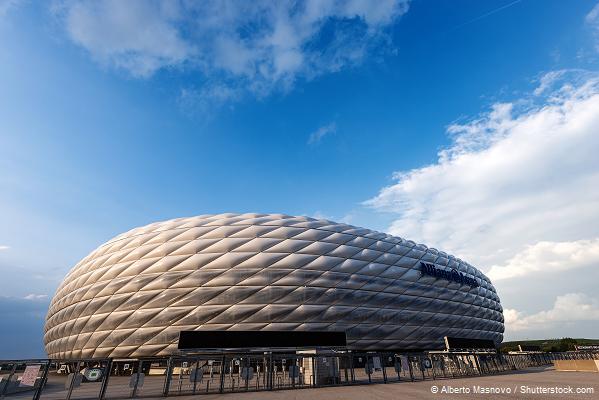 Allianz Arena bei Tag