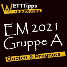EM 2021 Gruppe A Prognose & Analyse