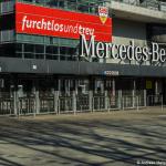Mercedes Benz Arena Eingang