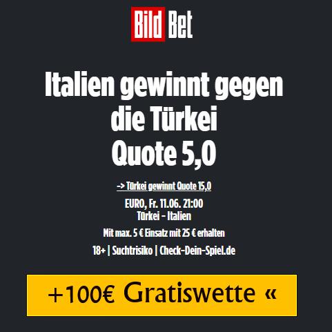 Quoten Boost Italien gegen Türkei 11.06.2021