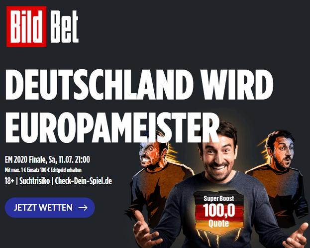 Beste EM Sieger Quoten auf Deutschland