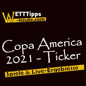 Copa America Terminkalender & Resultate