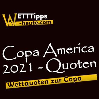 Quotenvergleich Copa America 2021