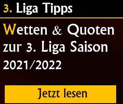 3. Liga Tipps & Prognose 2021 2022