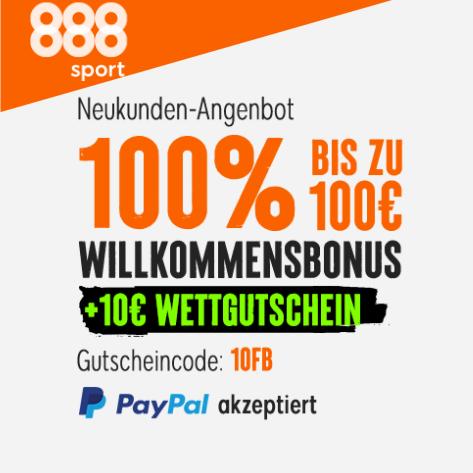 888 Wetten heute