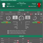 England Dänemark 07.07.2021 Statistik
