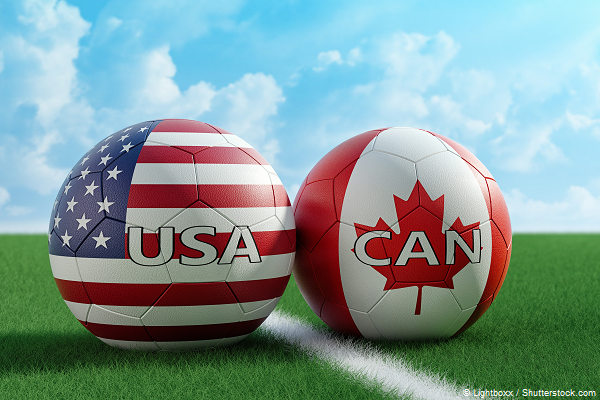 Gold Cup Duell USA - Kanada 18.07.2021