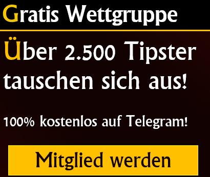 Tipico Wett-Gruppe auf Telegram