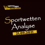 Wett-Tipps & Quoten 21.09.2021